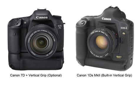 Canon-7D Vs 1DsMkII