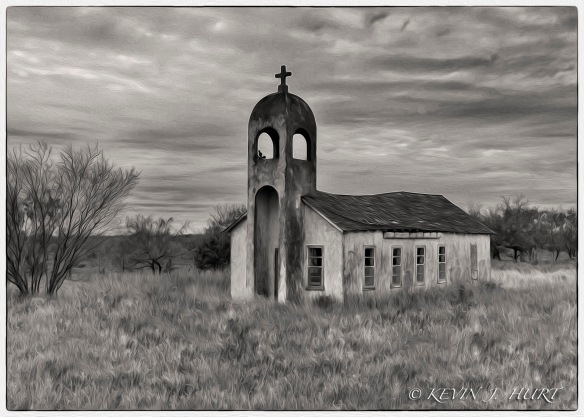 Abandoned Catholic Church - Artistic